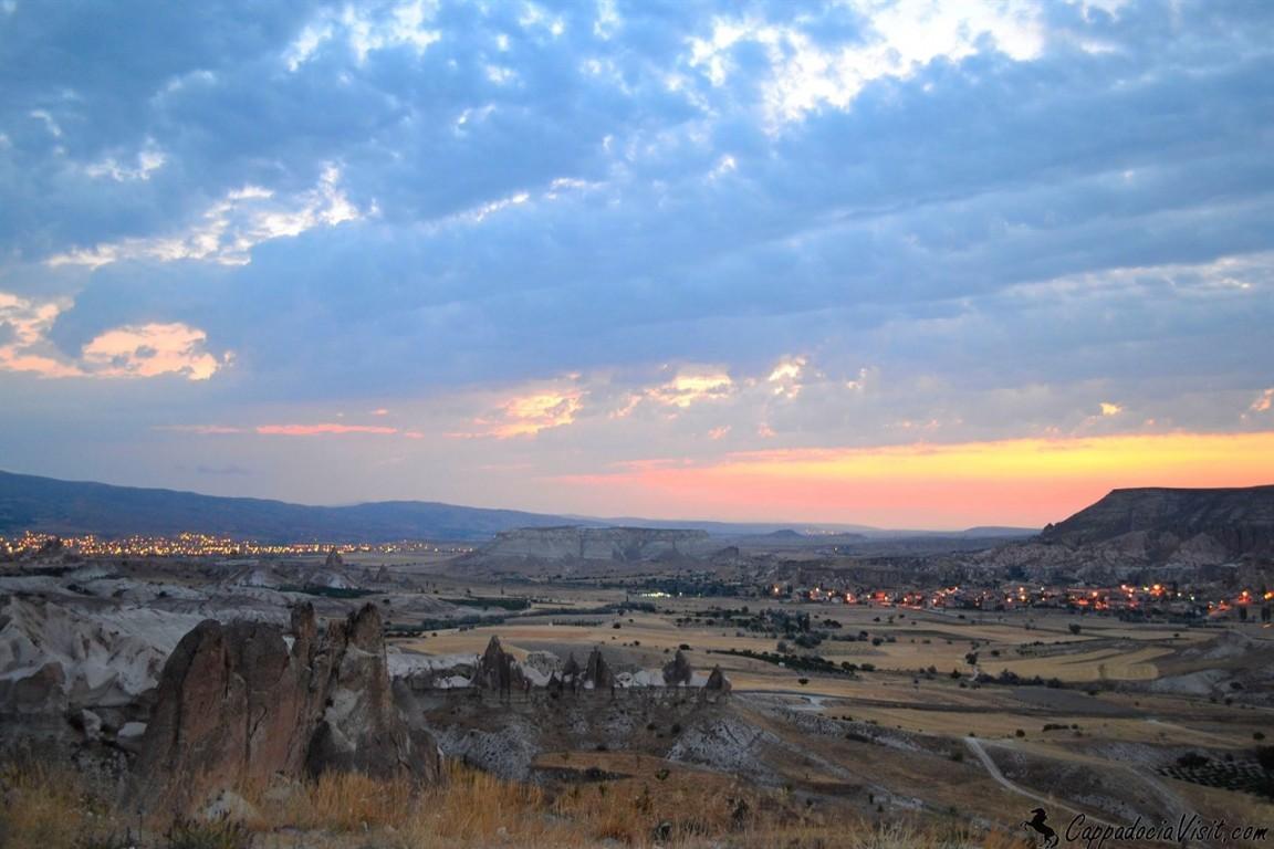 Город Аванос и деревня Чавушин