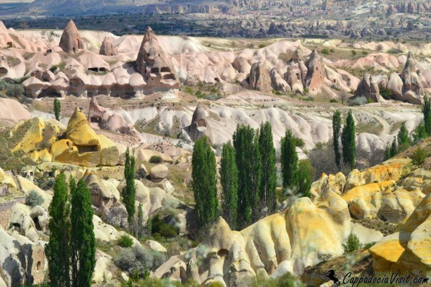 Каппадокия - Разнообразие Каппадокийского ландшафта