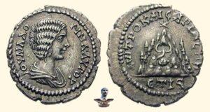 Каппадокия во времена Римской империи - Драхма Юлии Домны 208 г