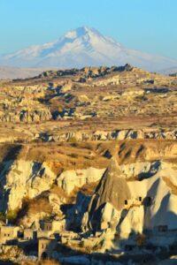 Вид горы Ерджиес с Национального парка Гёреме