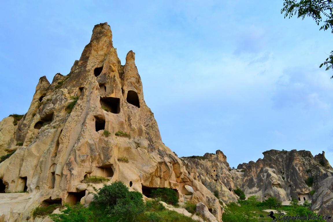 Скальный монастырь в Гёреме - ныне Музей под открытым небом