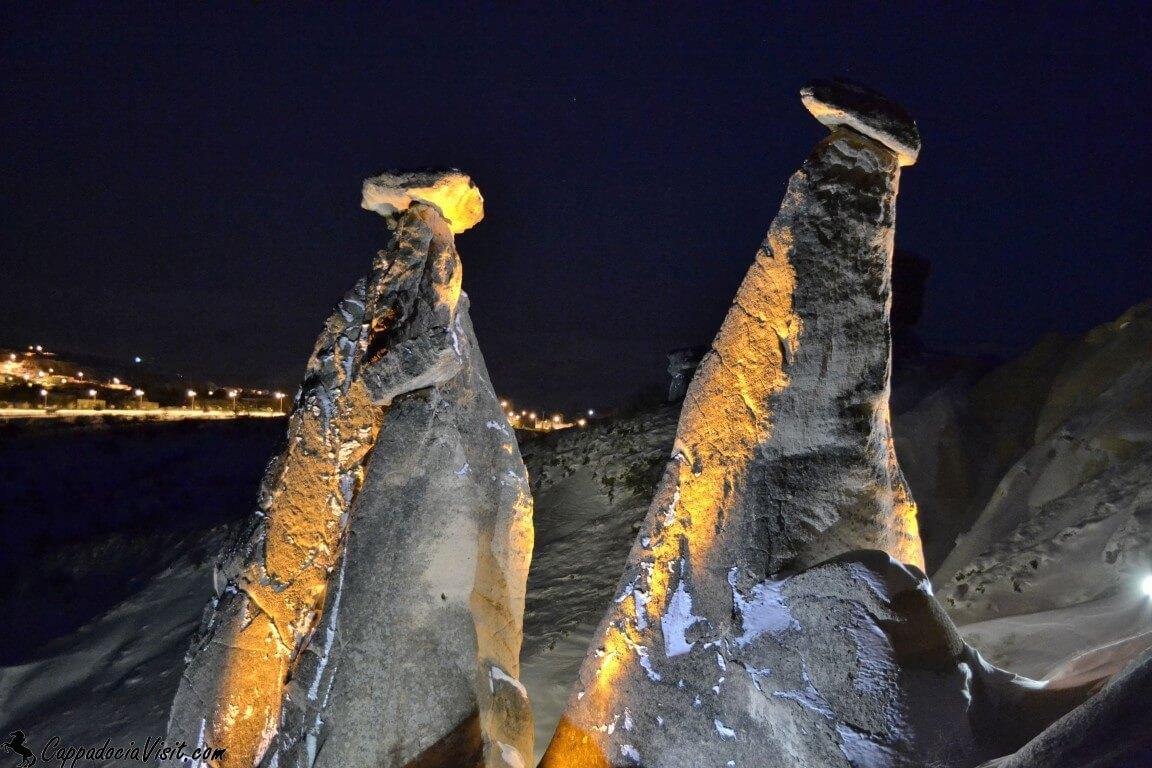 Три красавицы - январская ночь