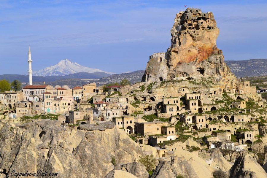 Ортахисар и гора Ерджиес