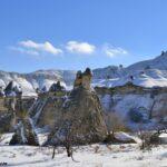 Декабрьский снег в долине Пашабаг