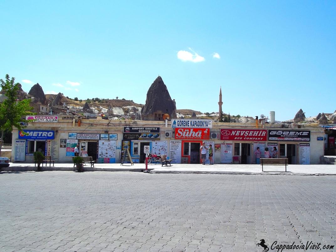 Гёреме - автобусная остановка
