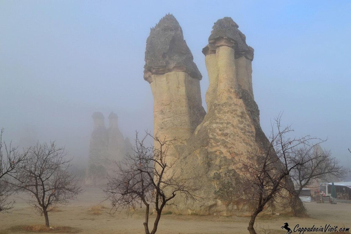 Долина Пашабаг в тумане