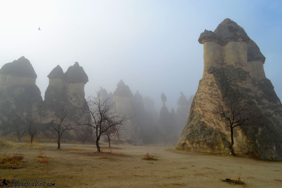 Туман в Долине Пашабаг