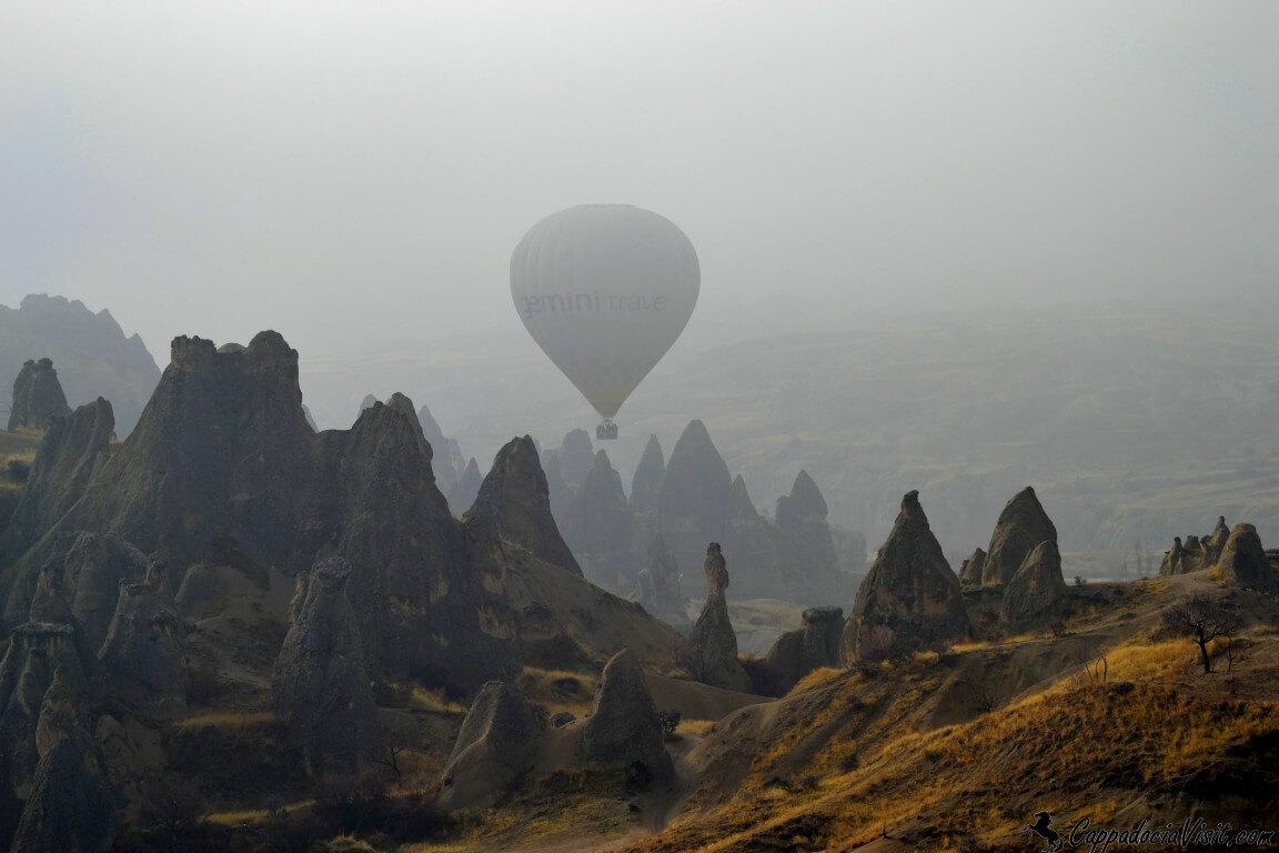 Шар в тумане - мистика тумана