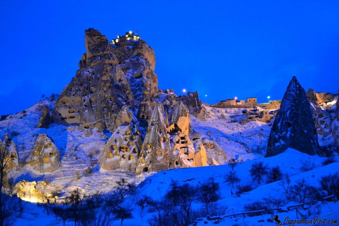 Заснеженная Крепость Учхисар