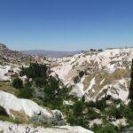 Крепость Учхисар — Вид с Голубиной Долиной