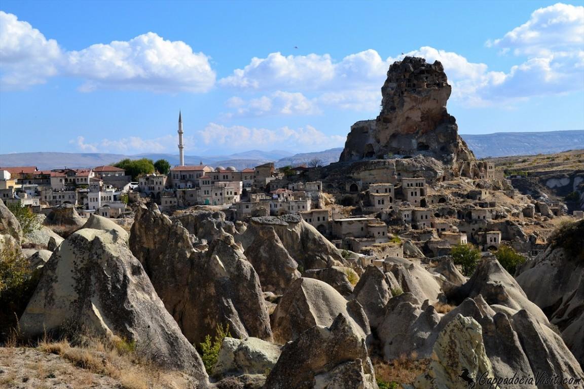 Городок Ортахисар и крепость