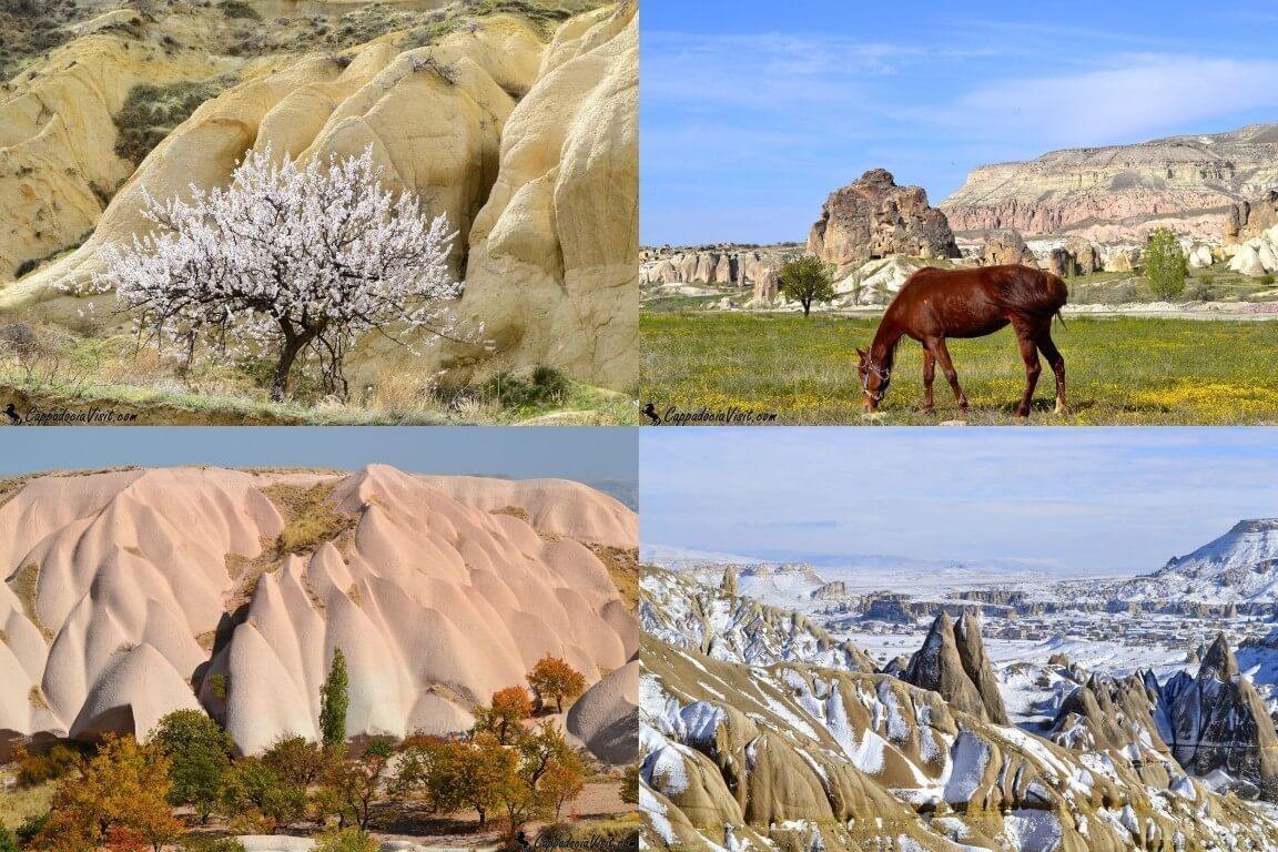 Погода в Каппадокии Весна, лето, осень и зима в Каппадокии