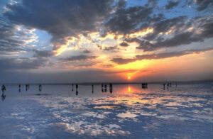 Озеро Туз - закат