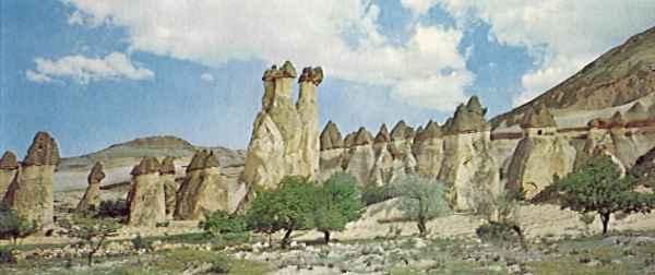 Образование скальных конусов