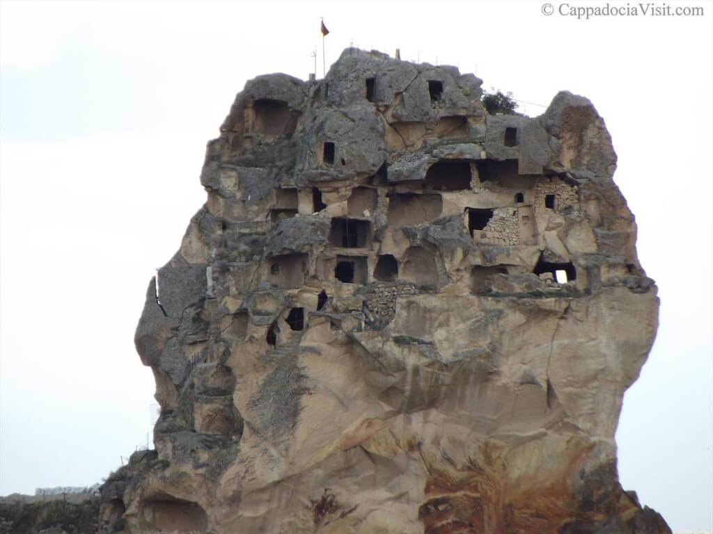 Крепость Ортахисар в Каппадокии