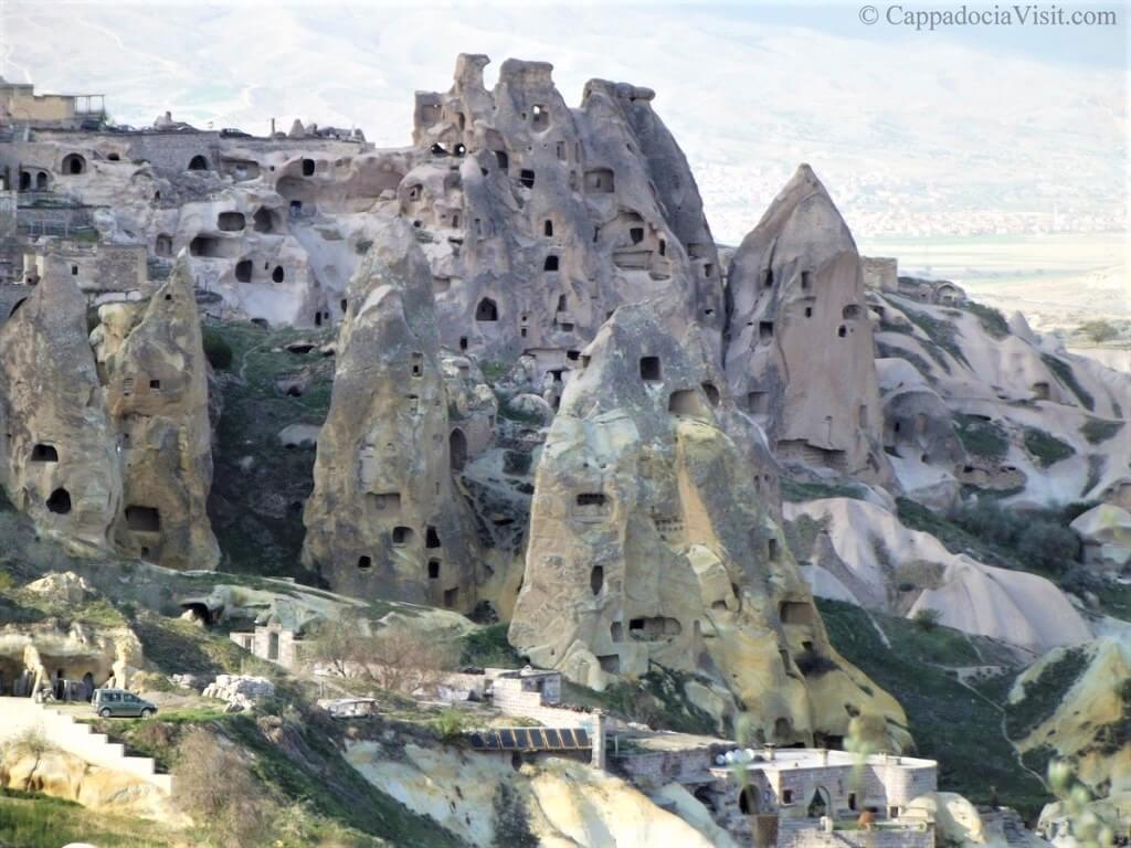 Заброшенные скальные дома