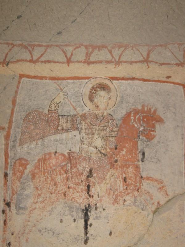 Часовня св. Василия - фреска