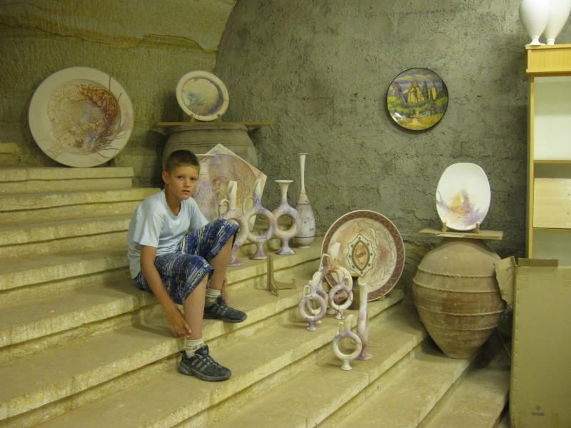 Керамическая мастерская в Каппадокии
