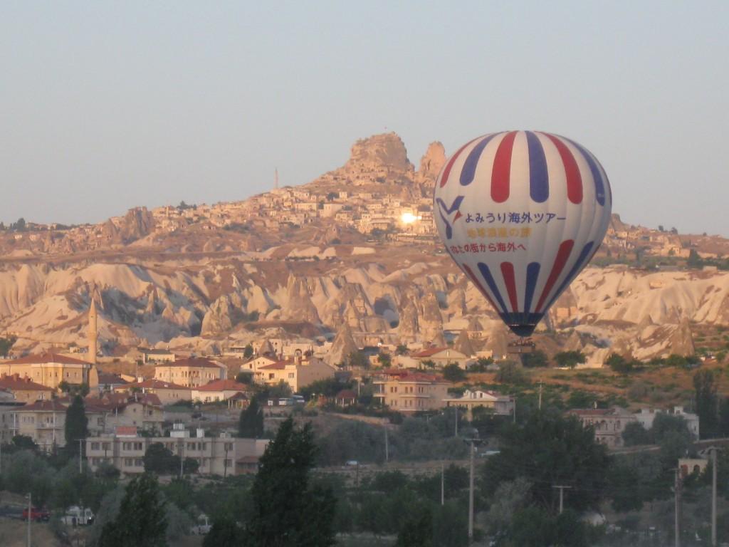 Воздушный шар над Гереме