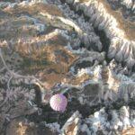 Ландшафт Каппадокии с воздушного шара