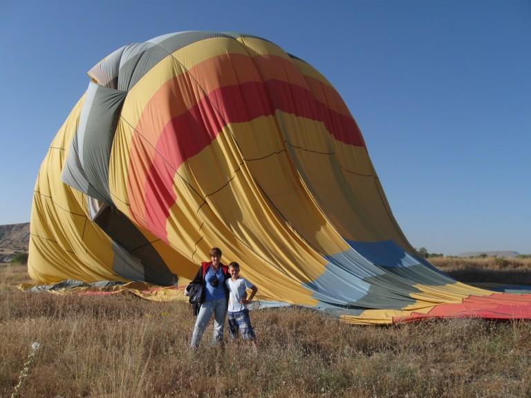 Наш «умирающий» воздушный шар