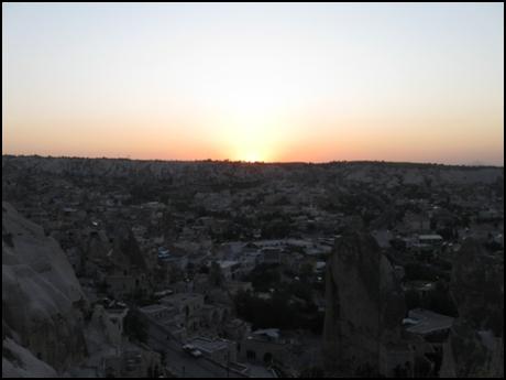 Закат в Гереме
