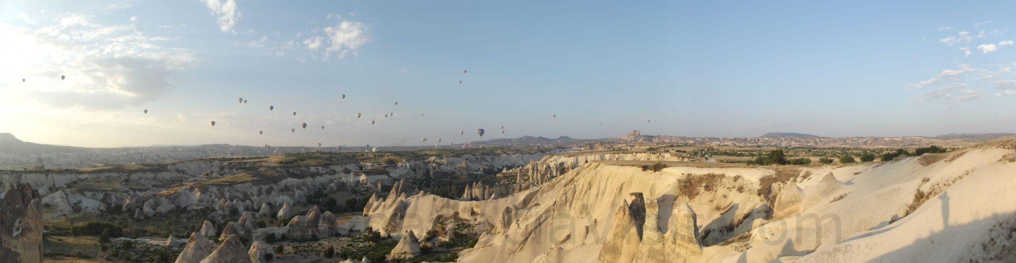 Каппадокия - Панорама с шарами