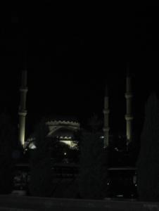 Мечеть, которую видно с автовокзала Коньи