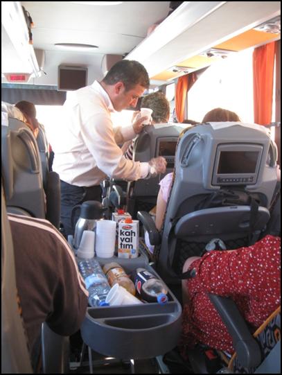 Наш милый стюард в автобусе