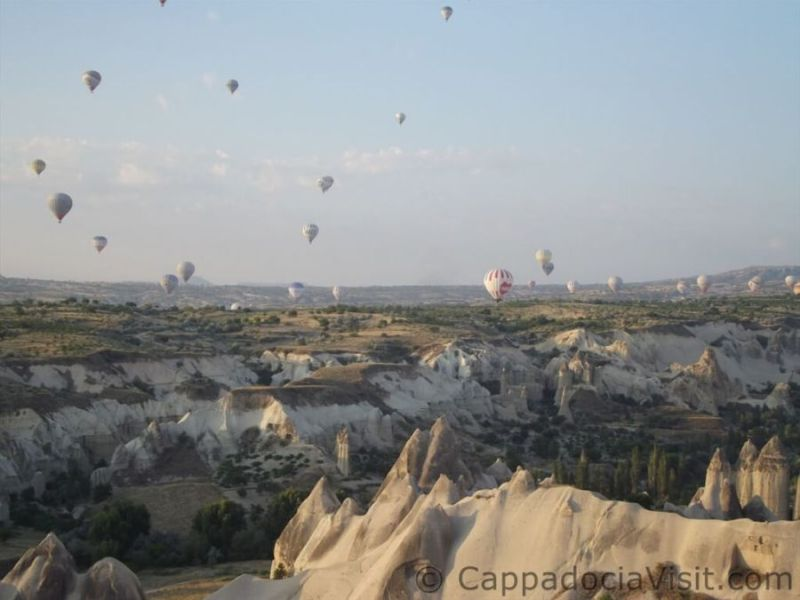 Незабываемый полет над Каппадокией