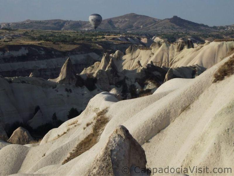Шар над туфовых образований Каппадокии