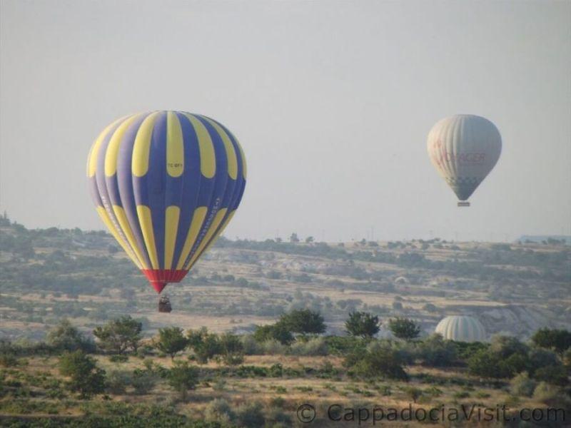 Шары в Каппадокии - полет