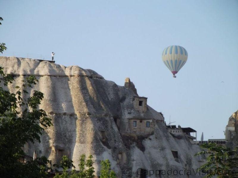 Воздушный шар в Гереме