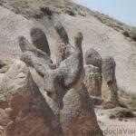 Каменный тюлень в Каппадокии