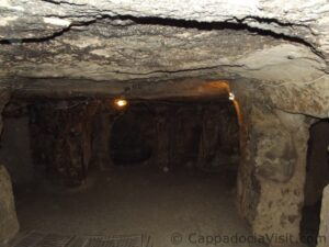 Кухня подземного города Каймаклы