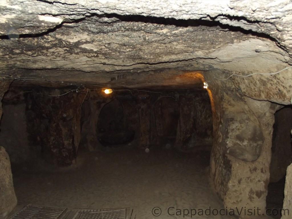 Общая кухня подземного города Каймаклы