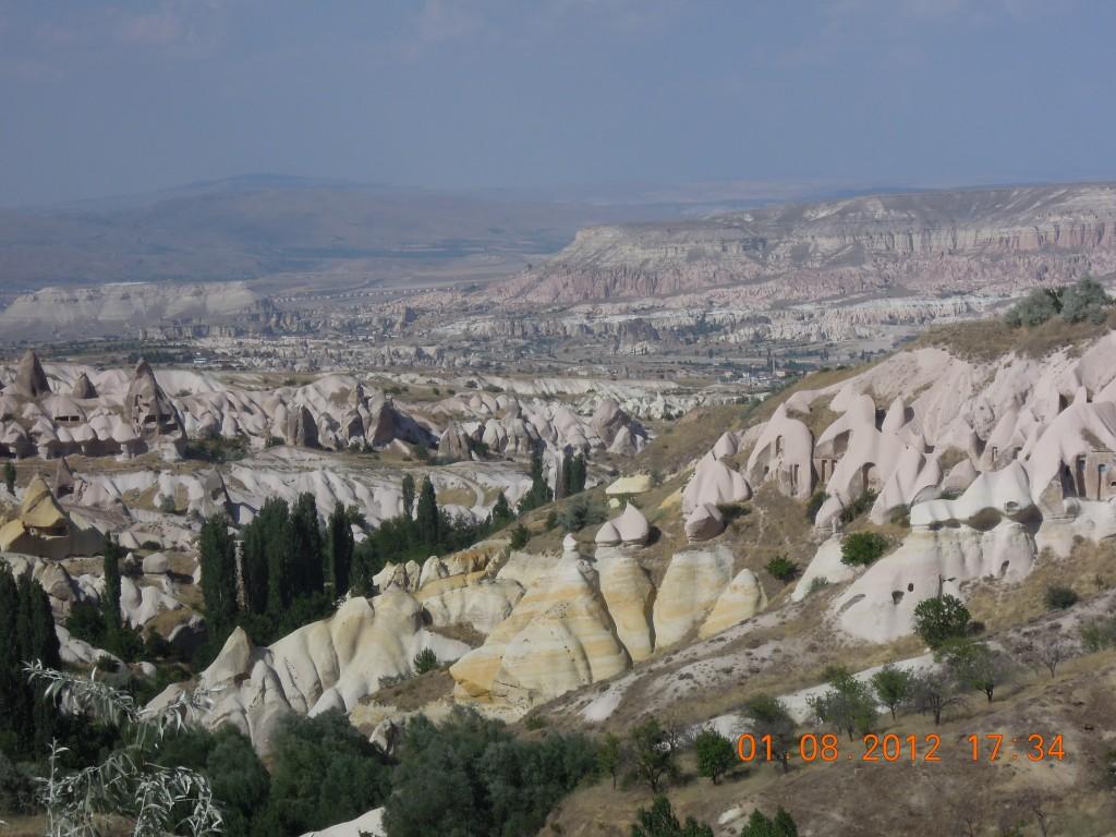 Каппадокия - Вид из Голубиной долины