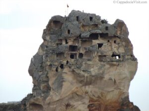 Ортахисар - верхняя часть крепости