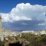 Панорама Каппадокии осенью