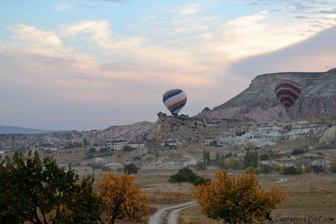 Осеннее утро в деревни Чавушин