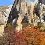 Осенний пейзаж в Каппадокии