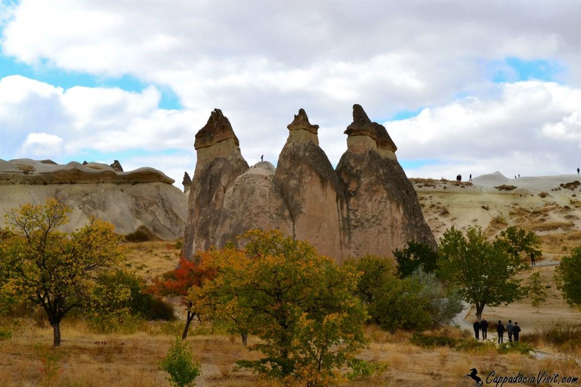 Камины фей в долине Пашабаг