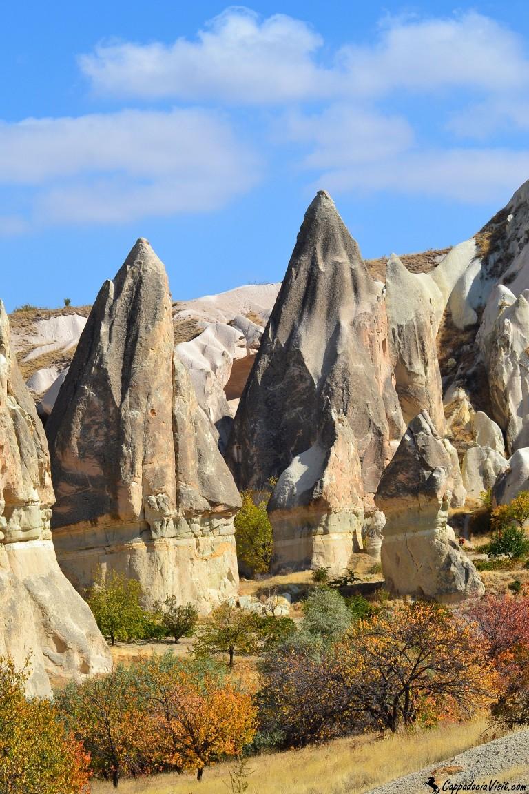 Осенние краски Каппадокийского ландшафта