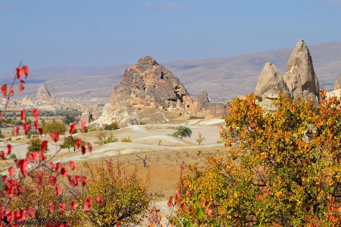 Пёстрая осень в Каппадокии
