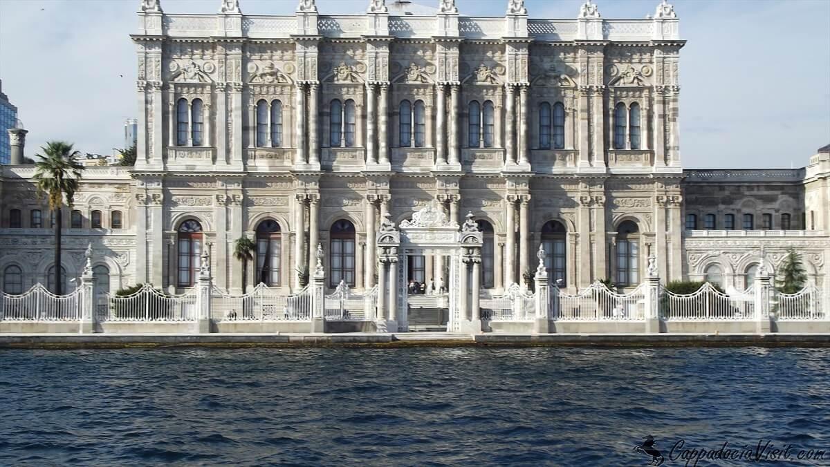 Дворец Долмабахче - большой зал
