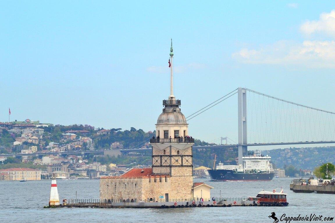 Девичья башня - символ Стамбула