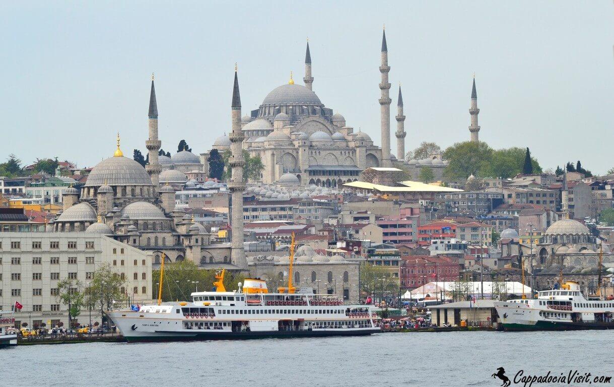 Величественные мечети Стамбула
