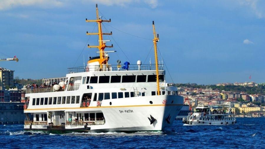Вапур (городские кораблики) - морской транспорт Стамбула