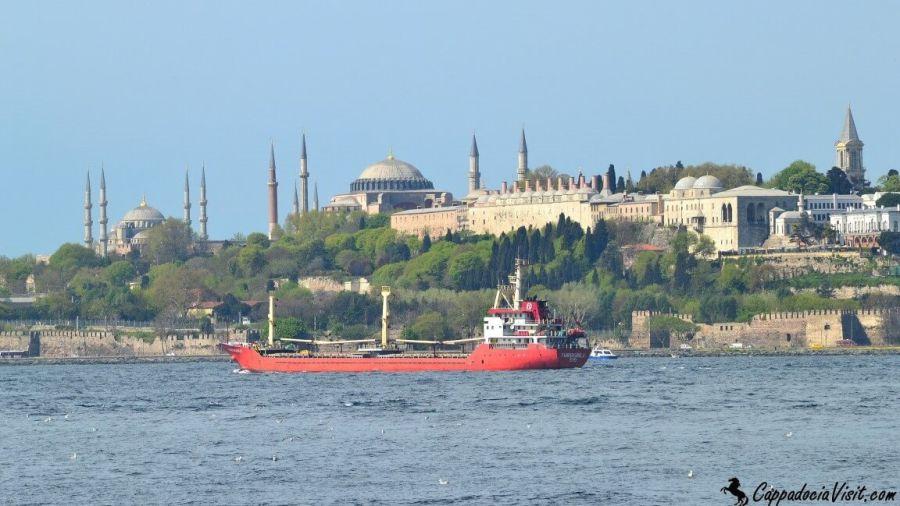 Дворец Топкапы, Айя София и Голубая мечеть