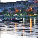 Вечерняя прогулка на гондоле по реке Кызылырмак